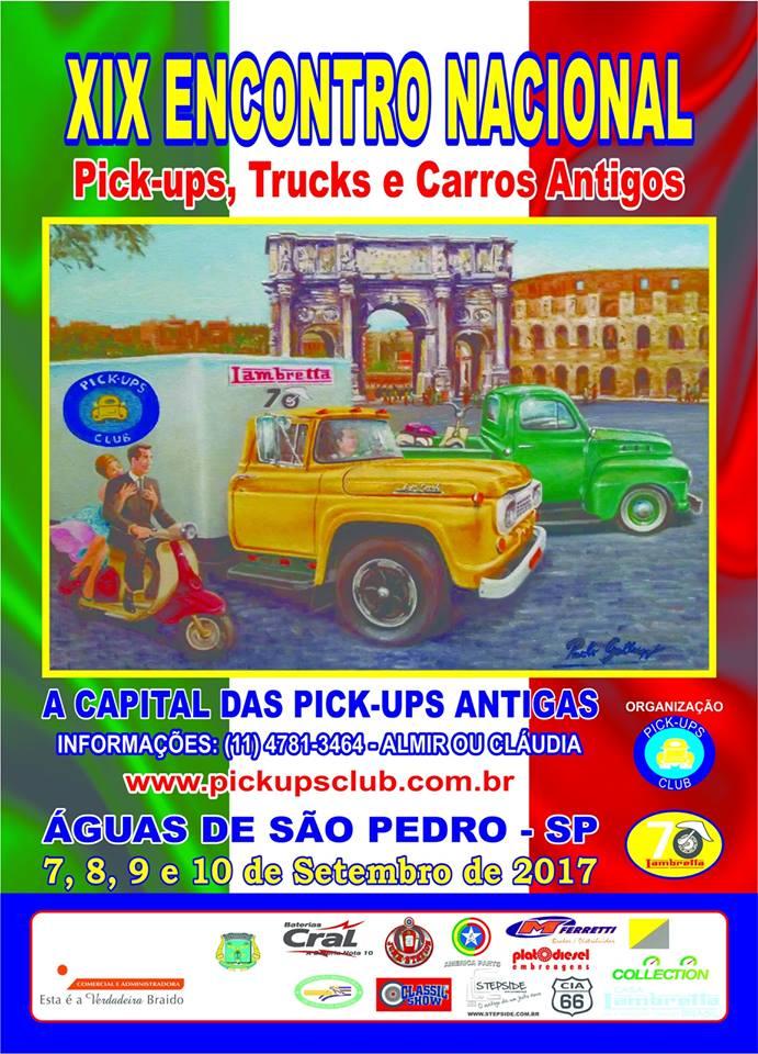 XIX Encontro Nacional de Pck-ups Trucks e Carros Antigos